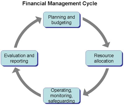 ciclul managementului financiar