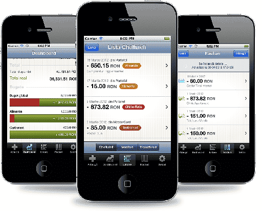 Acces Mobil al finantelor personale