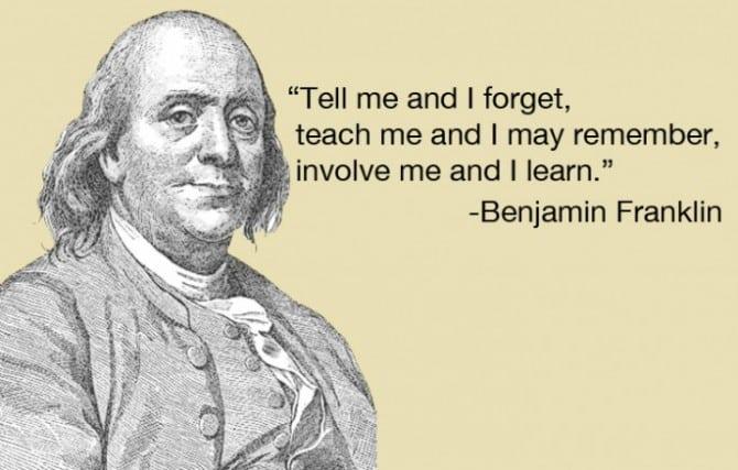 Citate Benjamin Franklin despre bani