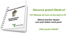 101 Metode de Cum sa faci Bani in Plus. Idei de a face Bani Online si Offline [Ebook Gratuit]