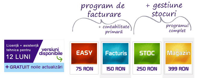 program de facturi online preturi