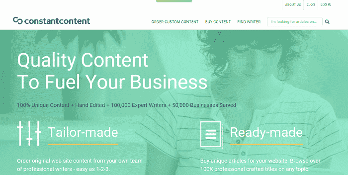 Custom Website Content