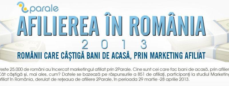 Cateva statistici despre Afilierea din Romania!