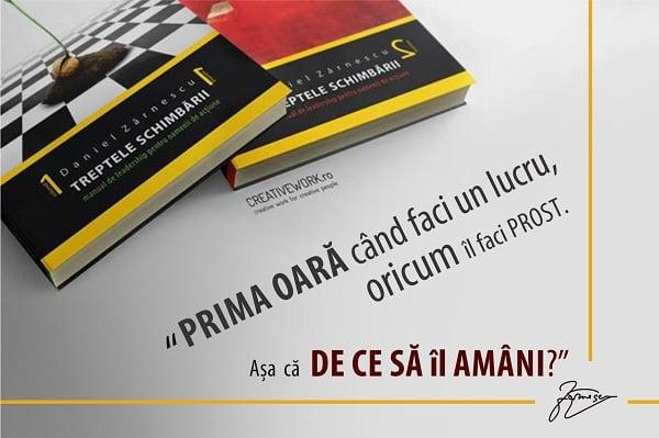 Citat Daniel Zarnescu