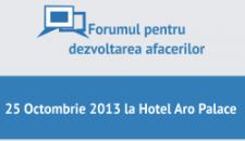 Inscrie-te la Forumul pentru Dezvoltarea Afacerilor!