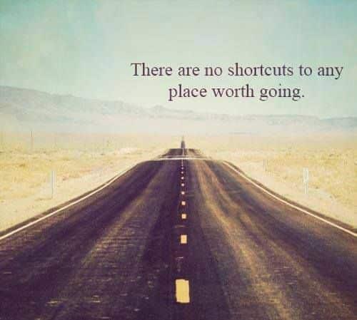 Există un singur drum către succes
