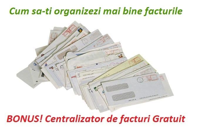 Cum sa-ti organizezi mai bine facturile