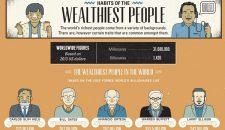 Infografic: Obiceiurile celor mai bogati oameni din lume