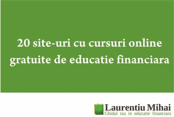 cursuri online gratuite de educatie financiara