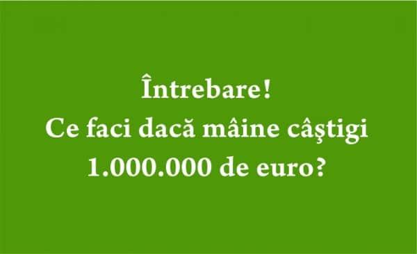 1000000 de euro
