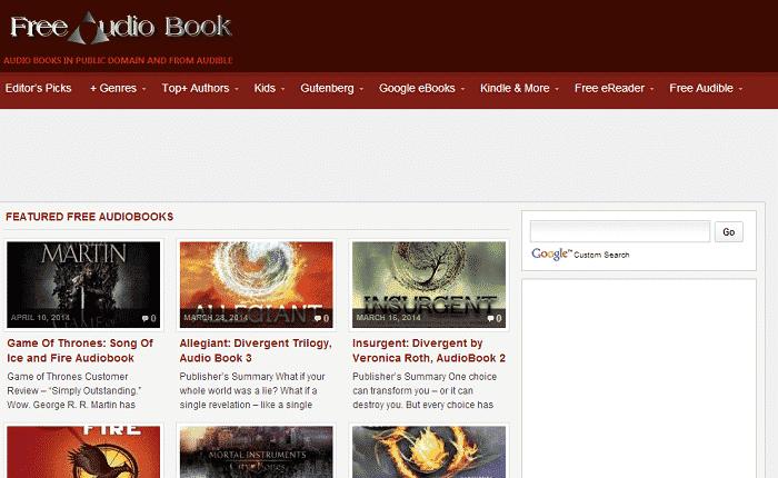 free audio books com