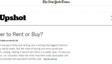 Sa cumperi sau sa inchiriezi o casa? Uite un calculator ajutator pentru aceasta problema