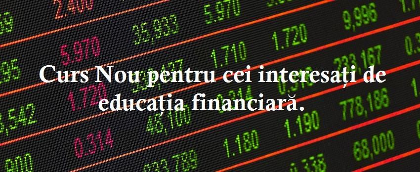 Curs Gratuit de Educatie financiara la Bucuresti, Cluj, Timisoara, Iasi si Constanta