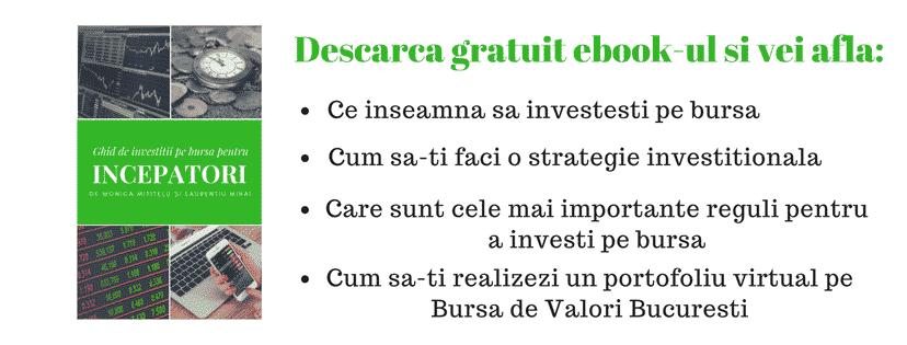 [Ebook Gratuit] Ghid de investitii pe bursa pentru incepatori