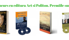 [Concurs] Castiga 3 Premii in Carti de Educatie Financiara de la editura Act si Politon