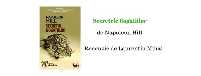 Recenzie – Secretul Bogatiilor de Napoleon Hill