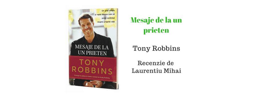 Recenzie Mesaje de la un prieten de Tony Robbins