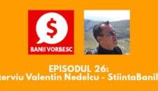 Banii Vorbesc #26: Valentin Nedelcu – Ce inseamna independenta financiara si cum o putem atinge