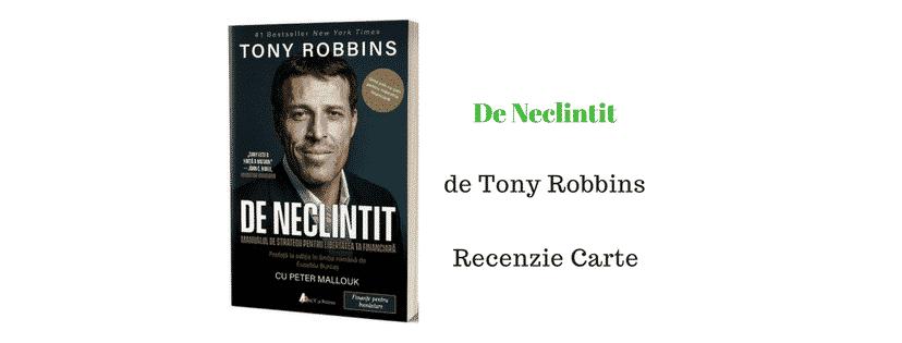 De Neclintit de Tony Robbins – Recenzie Carte